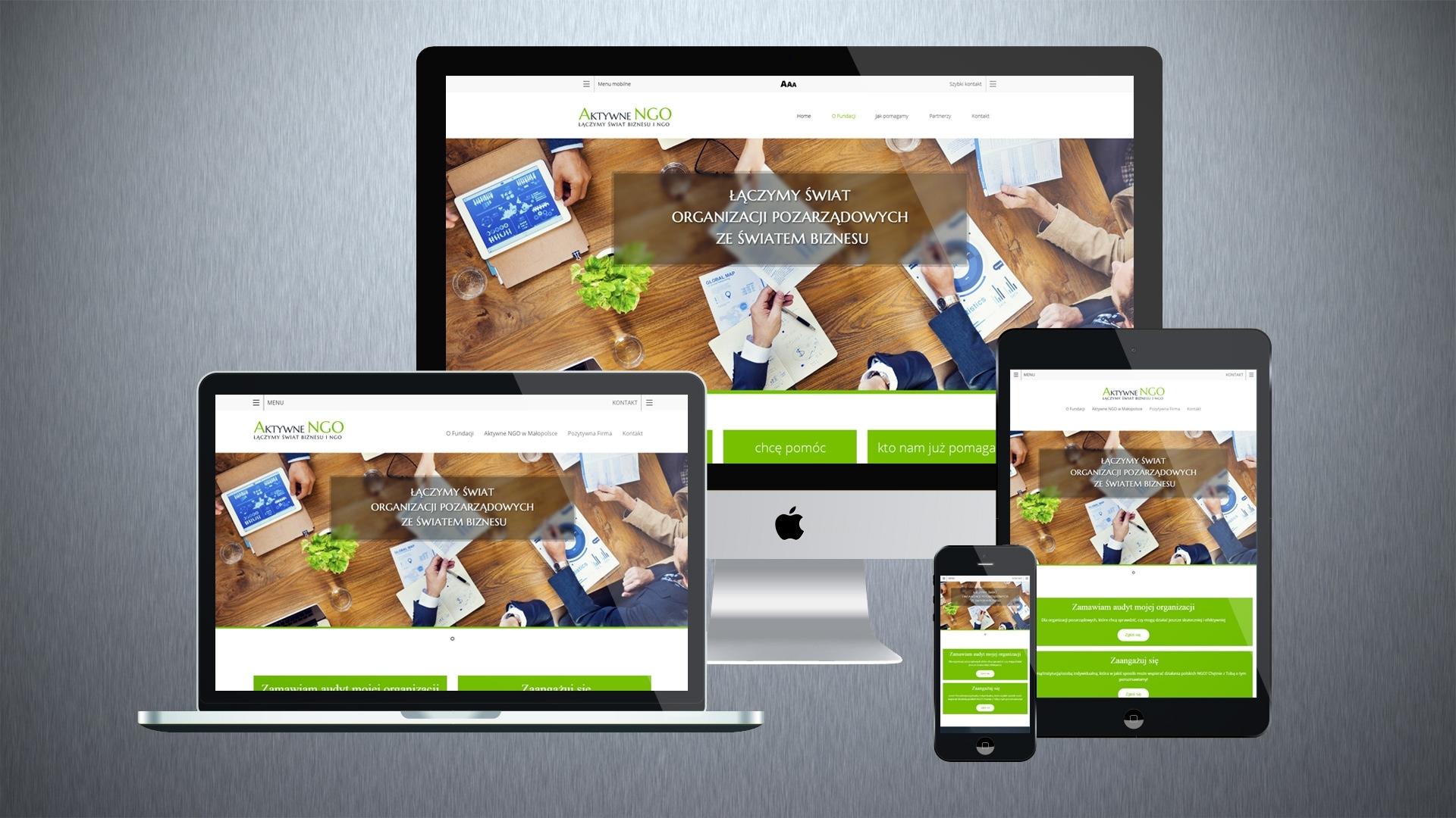 Strona internetowa dla Aktywnego