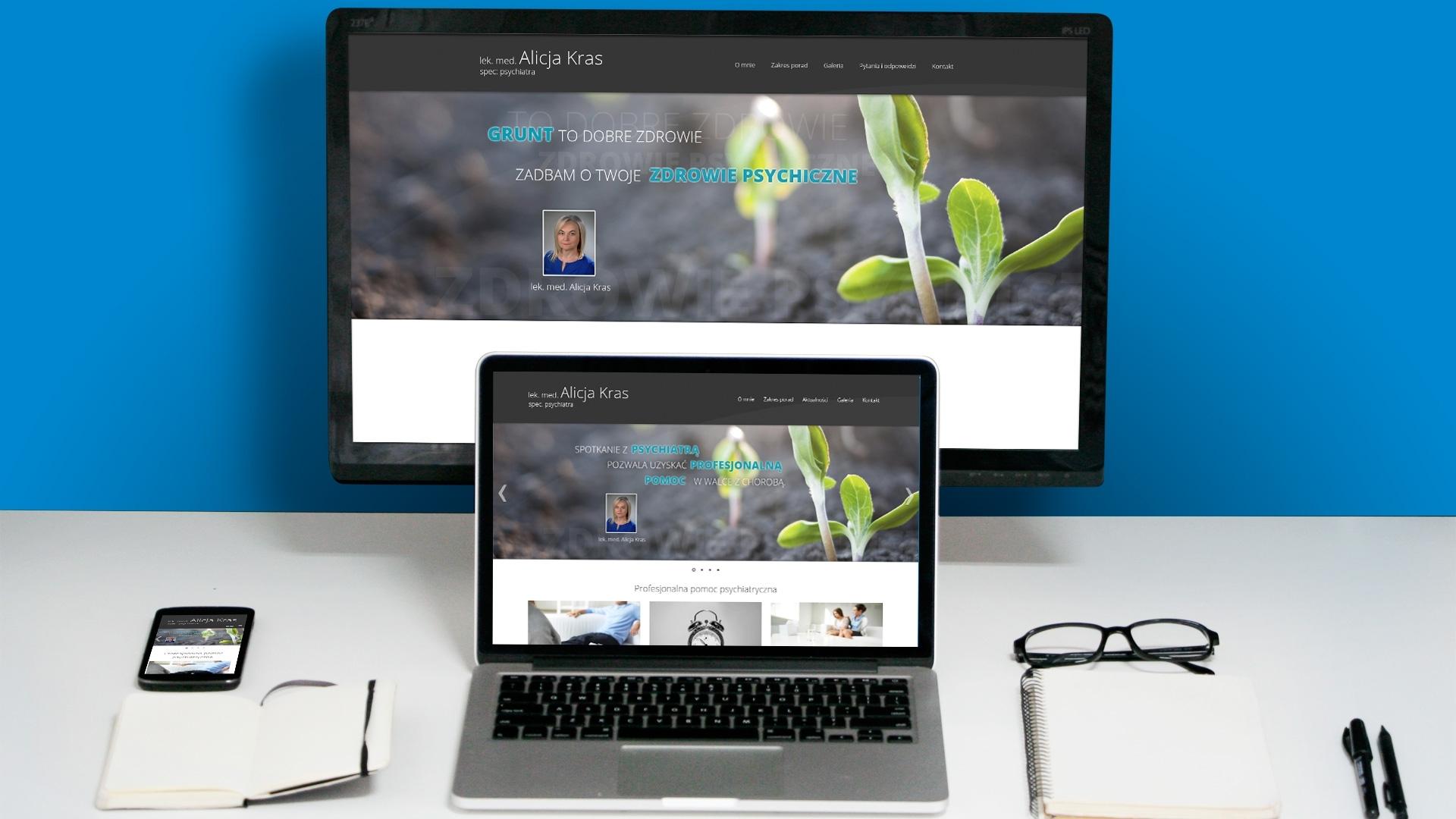 Strona internetowa dla Alicja Kras