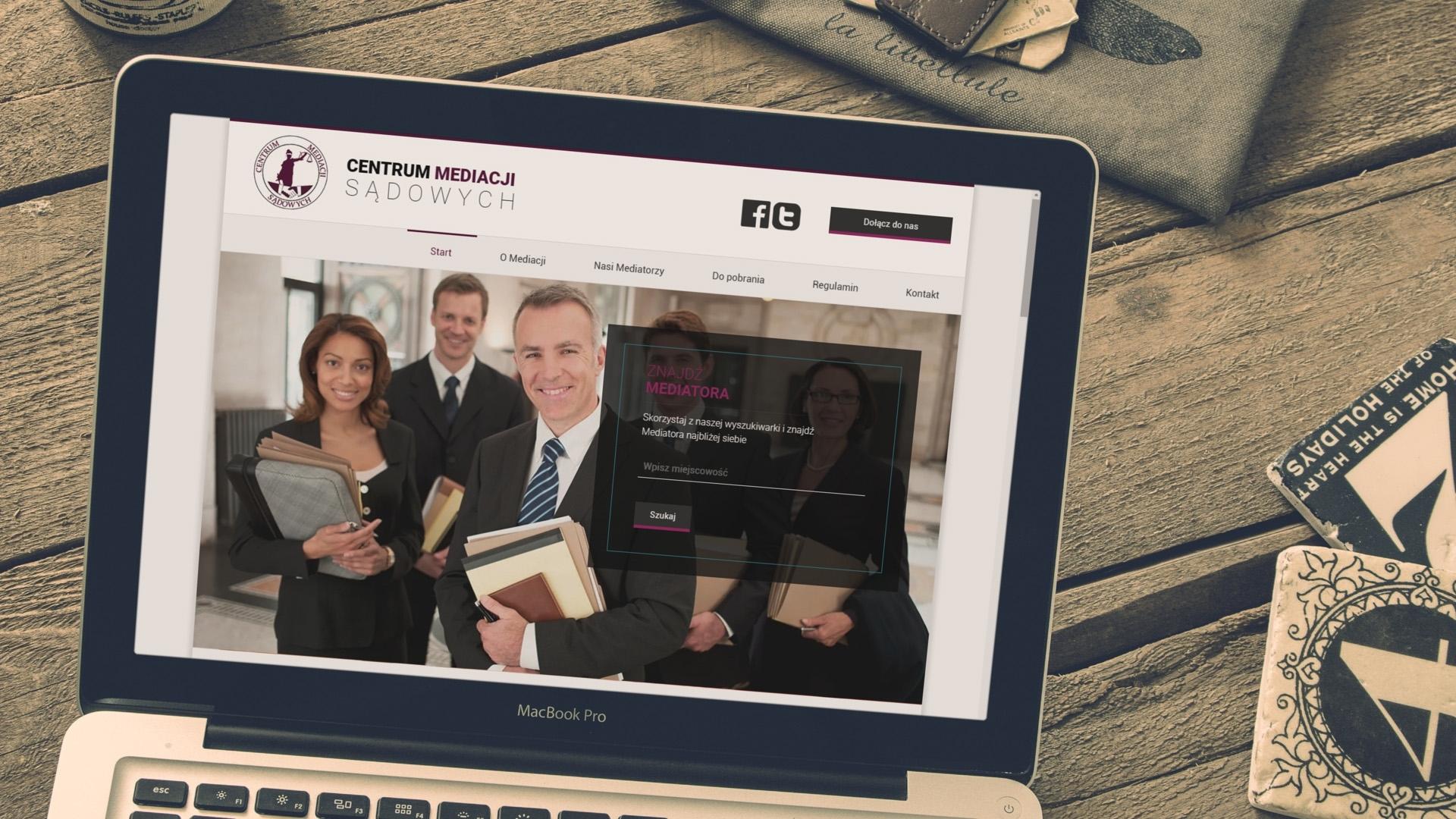 Strona internetowa dla Cems