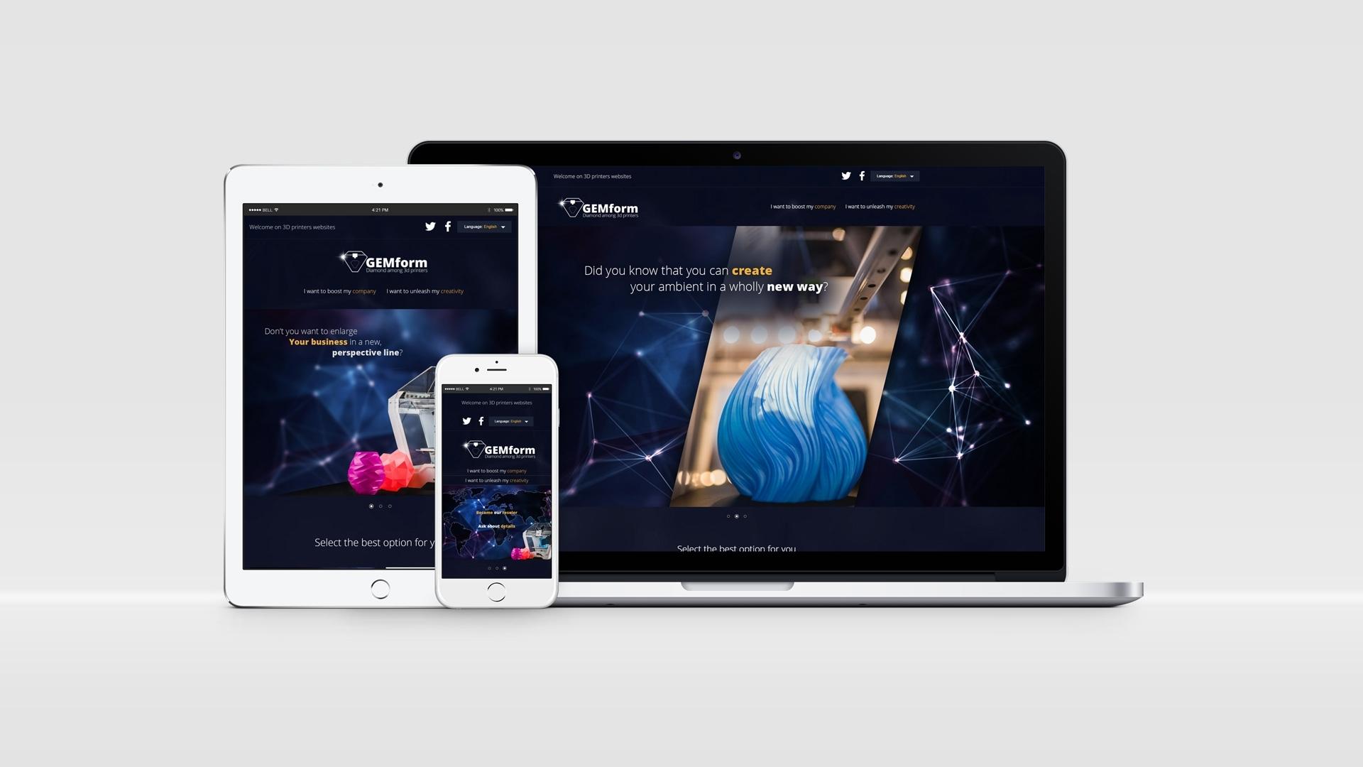 Strona internetowa dla Concept Craft