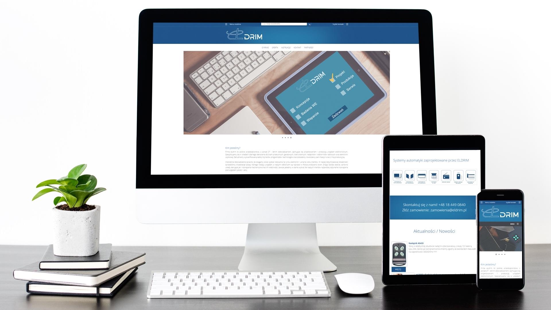 Strona internetowa dla Eldrim