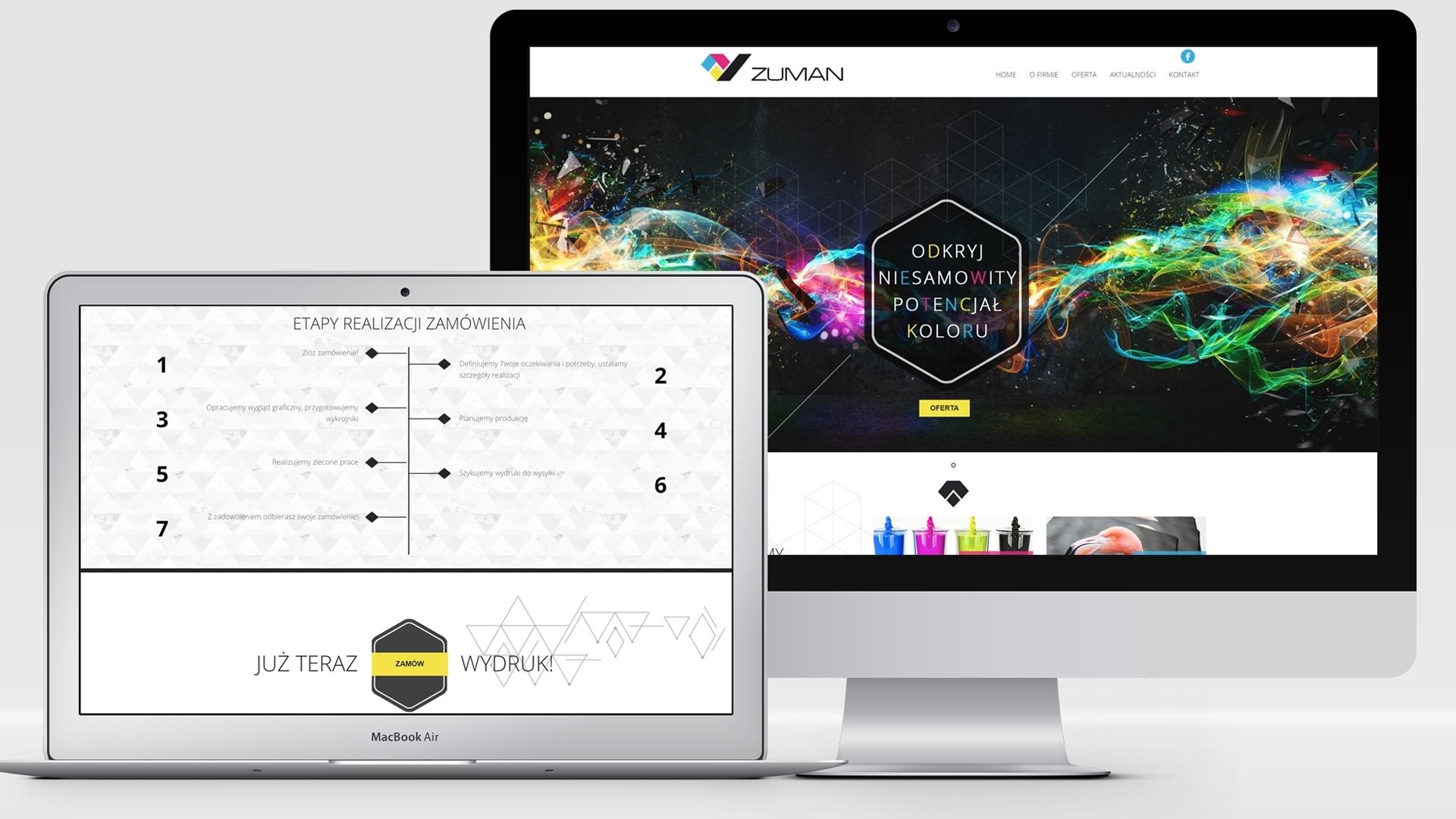 Strona internetowa dla Zuman